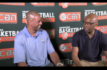 Jerome JYD Williams Sits With Sam Cassell at Top Spin Charity Event 2015