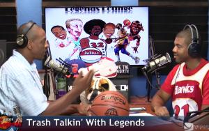 NBA Legends on Trash Talkin' With Legends Radio Show Ep09 2015