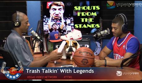 NBA Legends on Trash Talkin' With Legends Radio Show Ep08 2015