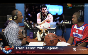 NBA Legends on Trash Talkin' With Legends Radio Show Ep06 2015
