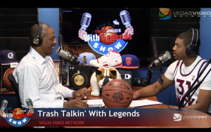 NBA Legends on Trash Talkin' With Legends Radio Show Ep04 2015