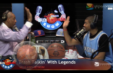 NBA Legends on Trash Talkin' With Legends Radio Show Ep02 2015