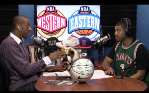 NBA Legends on Trash Talkin' With Legends Radio Show Ep01 2015