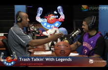 NBA Legends on Trash Talkin' With Legends Radio Show Ep03 2015