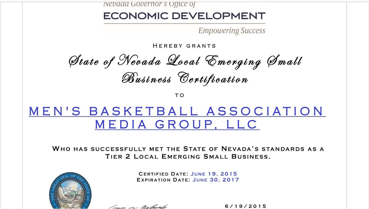 Certifications champions basketball network cbn minority certificate cbn champions basketball network yadclub Image collections